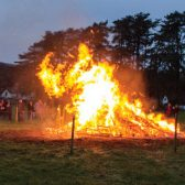 Local showground hosts beacon in celebration of Queen's birthday